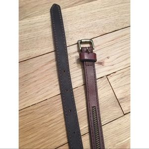 GAP skinny belt, XS